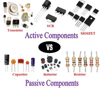 komponen elektronika aktif dan pasif