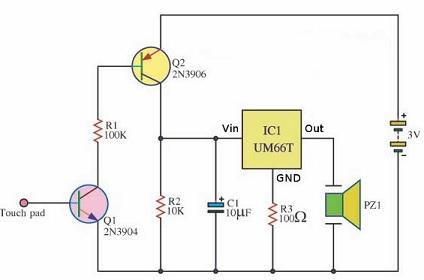 rangkaian elektronika alarm