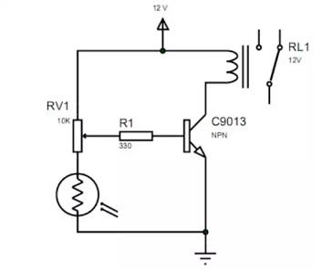 rangkaian elektronika saklar lampu