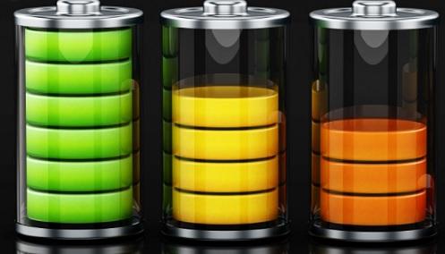 sumber energi listrik pada baterai