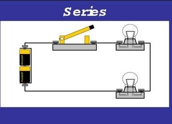 contoh rangkaian seri
