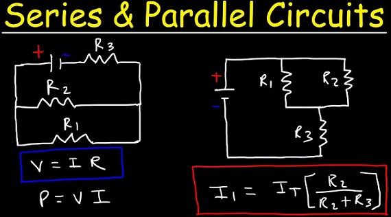 perbedaan rangkaian seri dan pararel