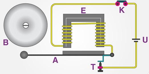 rangkaian bel listrik