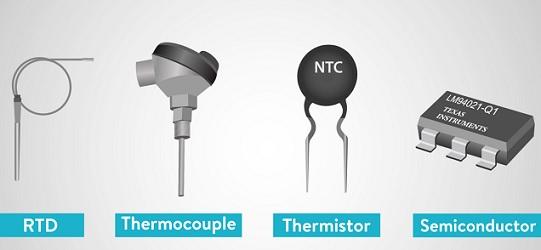 macam macam sensor suhu
