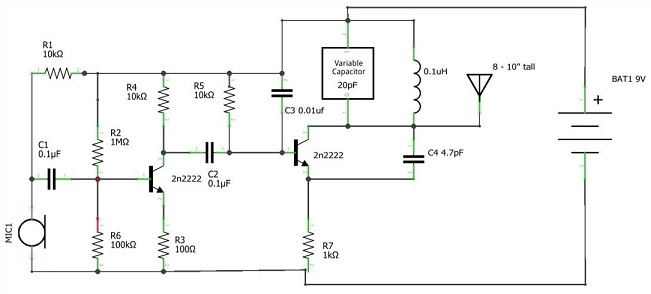 rangkaian Transmitter
