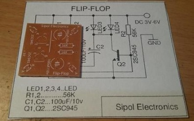 rangkaian flip flop sederhana