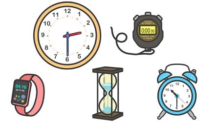 alat ukur waktu yang biasa dipakai