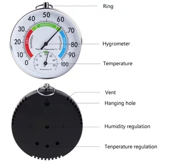 bagian bagian hygrometer