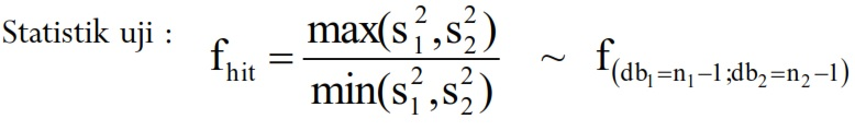 contoh uji hipotesis 5